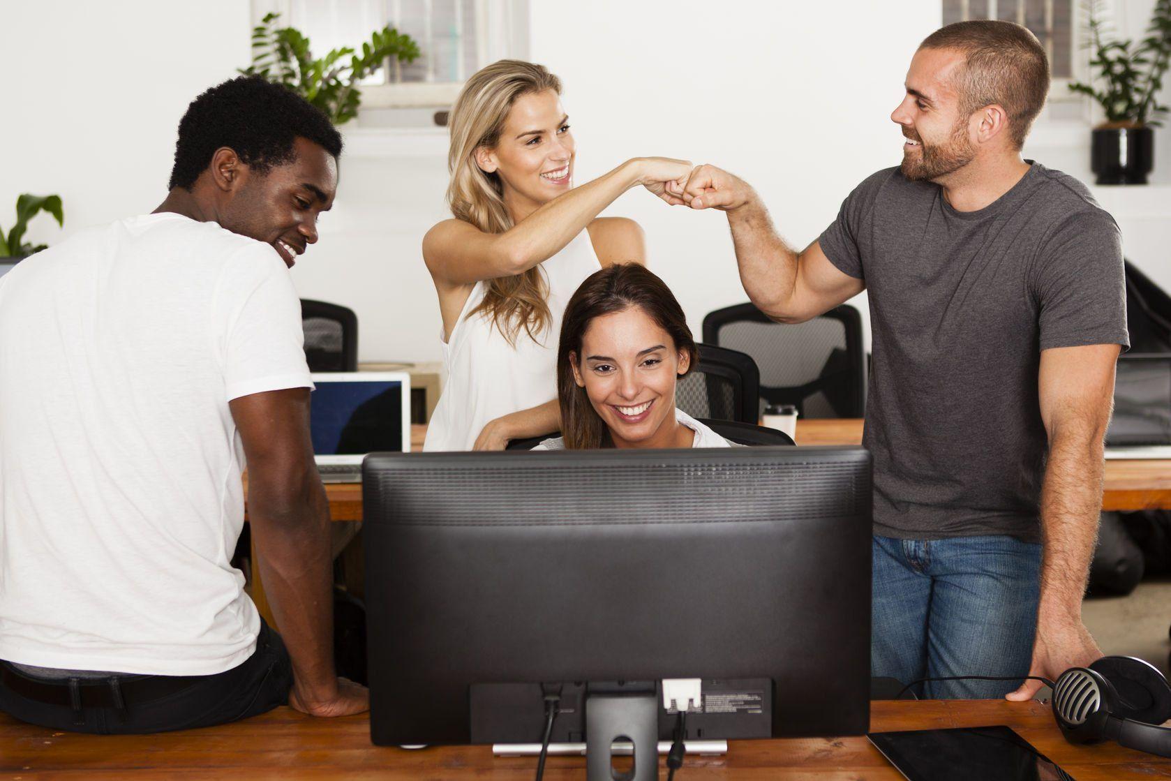 technology startup team