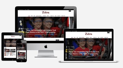 Zebra – Media Company Website
