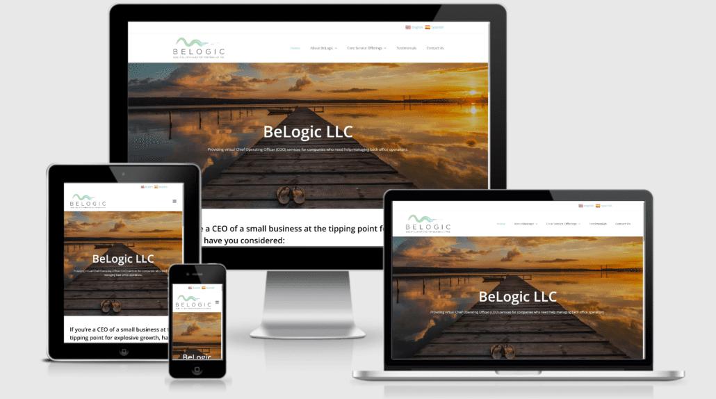 Be Logic Website - Consultant