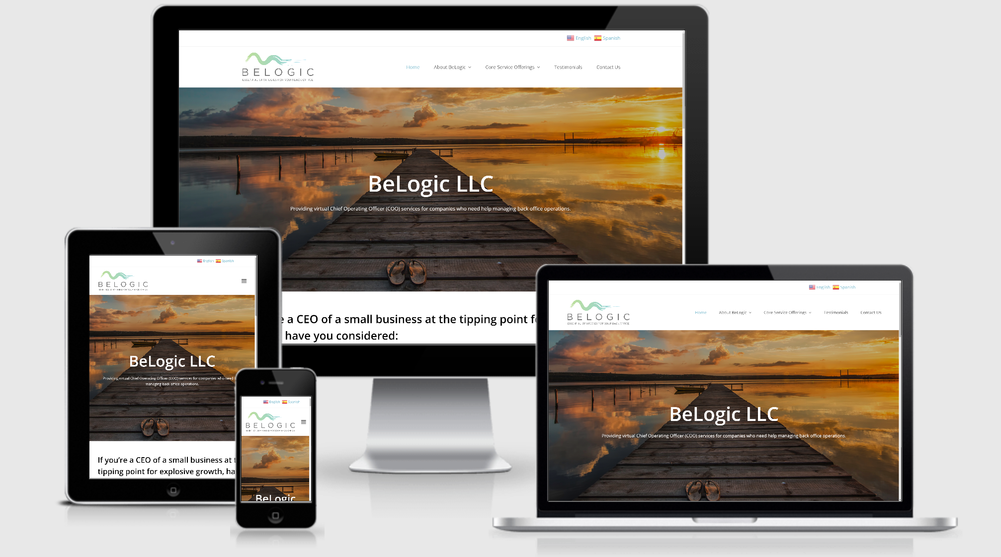 Be Logic Website - Consultant